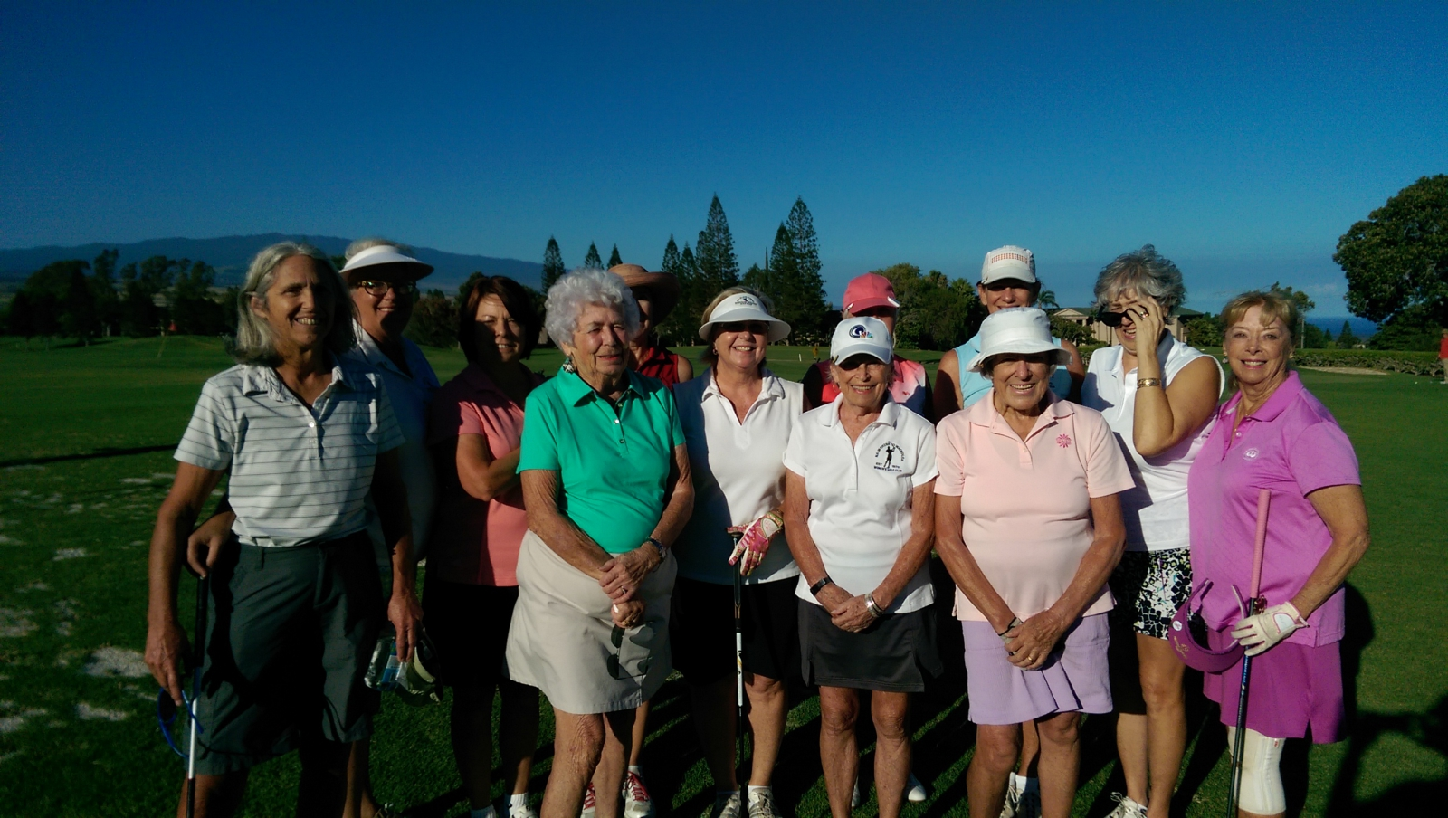 Na Wahine 'O Waikoloa Women's Golf Club Members